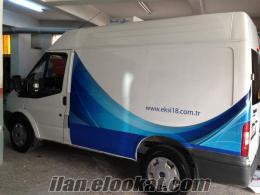 Kiralık Panelvan frigolu soğutuculu panelvan Transit