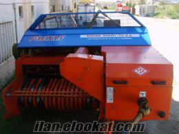 satılık 2009 model paksan balya makinası