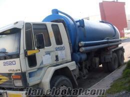 satılık cargo kamyon vidanjör