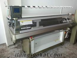 Triko örme makinası Shima Seika Ssg 122 sv
