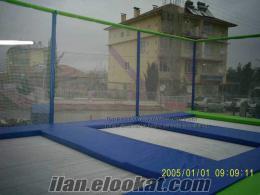 Satılık 3lü olimpik trambolin