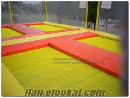 Satılık 4 lü olimpik trambolin