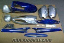 Satılık asya yuki scooter 150 kaporta seti mavi