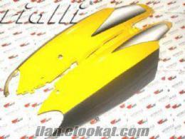 Satılık yan kapak scooter 150 cc sarı karbon tk