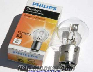 Satılık ybr 125 far ampülü philps 12 v
