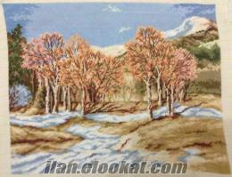 Erzurumda goblen tablo