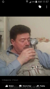 Eskişehir Yenikent jako papağanı