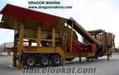 DRAGON 7 - Mobil Kapalı Devre Kırma Eleme Tesisi Yeni teknoloji