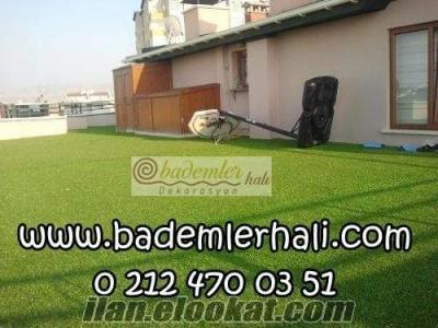 doğal görünümlü suni çim halı