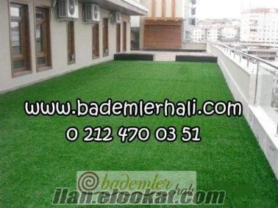 suni çim halı , 7 mm çim