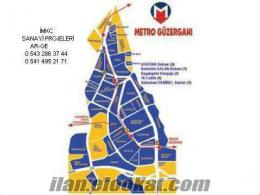 İkitelli Sanayi Sitelerinde Kiralık 200m2+400m2+500m2+800m2+1500m2+3000m2