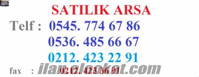 satılık arsa 30.000 peşin 650 tl.taksit istanbul-tüyap- e-5yanyol