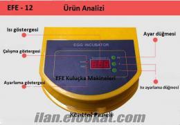 Ful otomatik EFE 24 lük kuluçka makinası