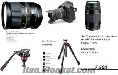 6D canon badi-24-70 tamron objektif