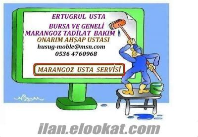 Bursa Osmangazi marangoz ustası