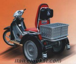 Üç teker engelli aracı