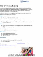 Online Yabancı dil eğitimi