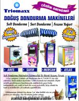 Soft Dondurma Frozen Yoğurt Makinaları Kampanya!!!