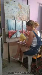 Antalyada yağlı boya kursu, kursları