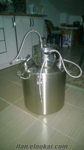 distilasyon makinası gül, kekik, bütün bitkilerden uçucu yağ çıkar