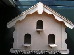 çatılı güvercin kümesi balkon modeli