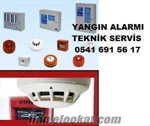 antalya otel yangın alarm sistemleri servisi