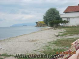 ACİL Tekirdağ Körfez sitesinde denize sıfır yazlık müstakil ev