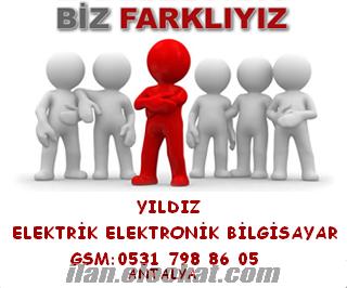 antalya elektrik servisi