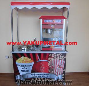 UYGUN FIYATA Popcorn & Bardakta Mısır Arabası KARGO KDV DAHIL YAKUPMETAL