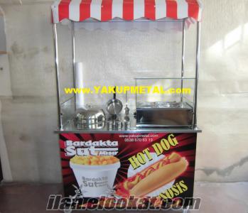 1.KALITE Hot Dog & Bardakta Mısır Arabası SADECE 1200 TL KAMPANYA YAKUPMETAL