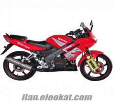 Satılık sıfır yuki motorsiklet