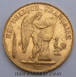 20 franc gold lucky angel