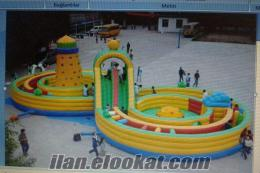 dev şişme oyun parkı
