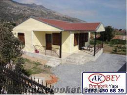 Sakaryada Prefabrik çelik ev , yazlık ev , kışlık ev