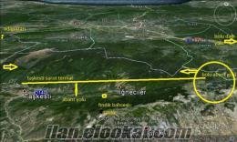 bolu abantta 3800m2 fındık tarlası
