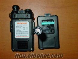 BAOFENG UV-5R 5W 136-174/400-480Mhz DUAL-BAND TELSİZ