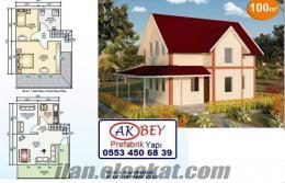 Prefabrik çelik ev , yazlık ev , kışlık ev