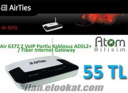 Air 6372 2 VoIP 4 Portlu Kablosuz ADSL2+ Fiber Internet 55 TL