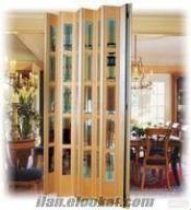 pvc katlanır kapı sistemleri, plastik akordion kapılar