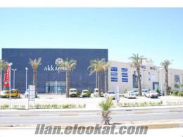 Akkapark AVM de satılık kiralık mağazalar