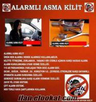 ALARMLI ASMA KİLİT 15 TL