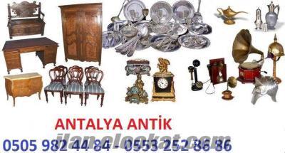 Antalya Osmanlı Belge Eski Pul Hat Yazisi Piştov Silah Eski Tesbih Alanlar