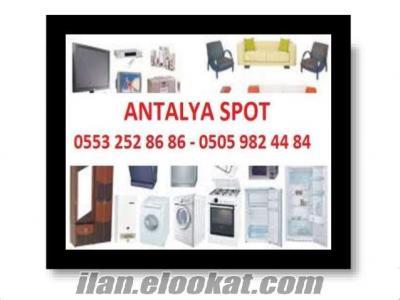Antalya Spot Toplu Ev Büro Eşyası Alınır Satılır