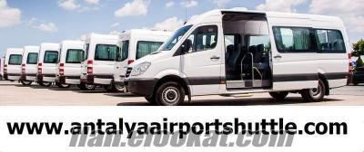 Antalya Havalimanı Dolmuş Minibüs Seferleri Fiyatları