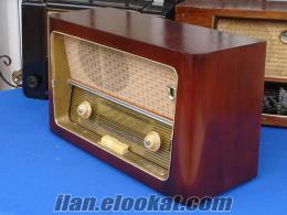 İzmir, antika radyo tamiri, lambalı radyo tamiri, Özcan Kırdı