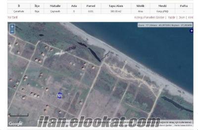 Sahibinden Satılık 300 m2 ARSA denize 80 metre