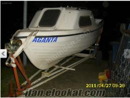 Polyester kamaralı dizel motorlu tekne