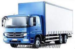 kiralık kamyon hizmetleri
