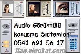 Antalya Audio Görüntülü Diyafon Montaj Arıza Servis