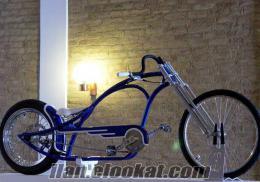chopper tarzı bisiklet imal ediyorum